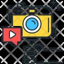 Video Logging Video Camera Icon