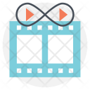 Video Loops Icon