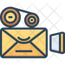 Video Mailing Icon