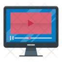 Video Marketing Digital Icon