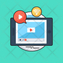 Video Marketing Media Icon