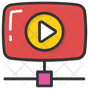 Video Advertising Selling Icon
