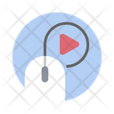 Digital Marketing Video Marketing Seo Icon