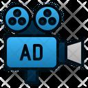 Video Marketing Film Promotion Icon
