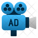 Video Marketing Film Promotion Icon