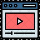 Video Marketing Advertising Icon
