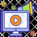 Web Advertisement Web Promotion Web Ads Icon