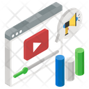 Video Marketing Web Video Video Promotion Icon