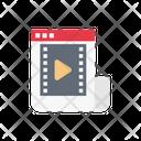 Video Marketing Ads Icon