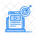 Video Marketing Live Video Video Streaming Icon
