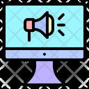 Computer Video Call Icon