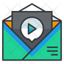 Video Marketing Mail Icon