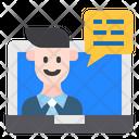 Man Technology Online Icon