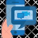 Video Marketing Video Advertisement Digital Marketing Icon