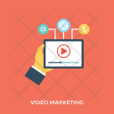 Video Marketing Icon
