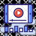 Video Marketing Advertising Video Advertising Icon