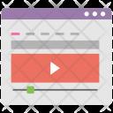 Vlogging Video Tutorial Icon