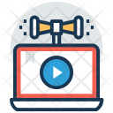 Video Marketing Content Icon