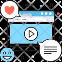 Multimedia Video Launch Icon