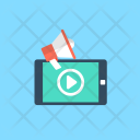 Video Marketing Viral Icon
