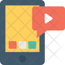 Video Marketing Message Icon