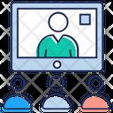 Video Meeting Icon