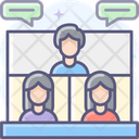 Video Meeting Video Conference Video Call Icon