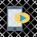 Mobile Bubble Phone Icon