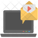 Video Message Mail Icon