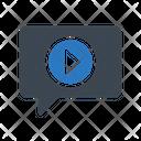 Video Message Marketing Icon