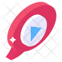 Video Message Media Message Video Mail Icon