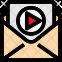 Video Message Video Film Icon