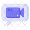 Video Chat Video Message Video Communication Icon