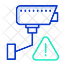 Video Surveillance Alert Video Monitoring Alert Surveillance Camera Icon