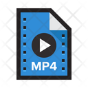Video Mp Video Movie Icon