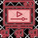 Video Network Icon