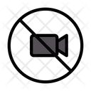 Video Not Allowed Icon