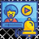 Notification Bell Alarm Alert Warning Message Alerting Notify Icon
