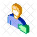 Actor Business Character Icon