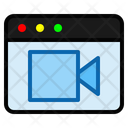 Video Page Video Camera Icon