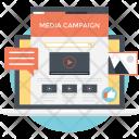 Media Campaign Social Icon