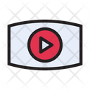 Video Play Streaming Icon