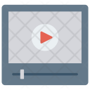 Video Player Music Icon