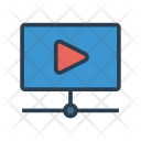 Video Play Screen Icon