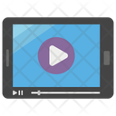 Video Play Video Streaming Watching Video Icon