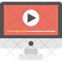 Video Player Internet Video Online Video Marketing Icon