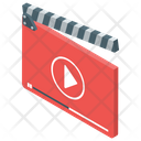 Clapperboard Media Player Video Player Icon