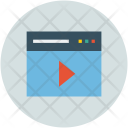 Player Video Multimedia Icon