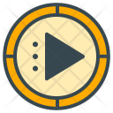 Video Player Play Icon