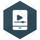 Video Player Mobile Icon